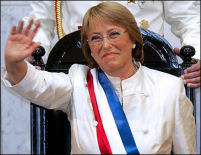 Chile's new presdient
