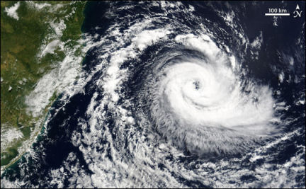 Hurricane Catarina off Brazil, 2004