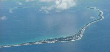 Look quick before Tuvalu is gone