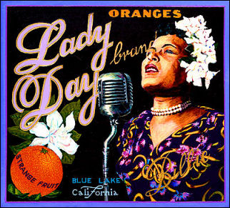 Lady Day Brand oranges