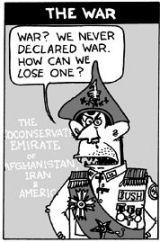 War? What war?