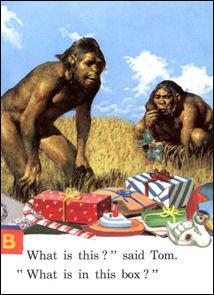 An unusual card