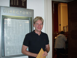 Bjorn Lomborg at the joint House hearing in Washington D.C. on global warming on March 21, 2007 - natasha