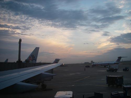 The sky over the Dallas airport, 6-23-06. � natasha